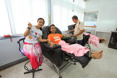 Blood Bank. In Thailand Hospital Royalty Free Stock Photography