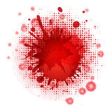 Blood Blobs Royalty Free Stock Photography