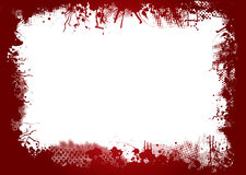 Blood border Stock Images
