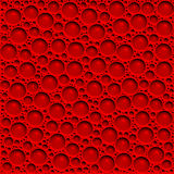 Blood bubbles Stock Image
