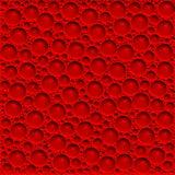 Blood bubbles stock image