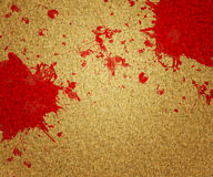 Blood on Canvas Royalty Free Stock Photos