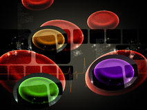 Blood cell Royalty Free Stock Photo
