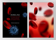 Blood Cell infographic Royalty Free Stock Photos