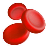 Blood cells Royalty Free Stock Photography