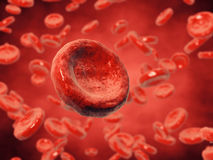 Blood cells Stock Photos
