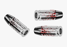 Blood and crime scene concept Stock Photography