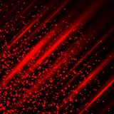 Blood cut blotter light background Stock Photography