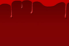 Blood on dark background Stock Photo