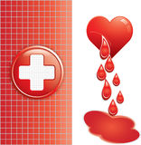 Blood donation Royalty Free Stock Image