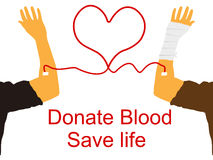 Blood donation Stock Images