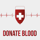 Blood donation Stock Photography