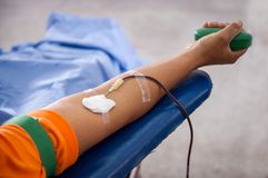 Blood donation. Royalty Free Stock Photos