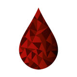 Blood donation isolated icon Stock Images