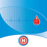 Blood donation vector. Stock Images