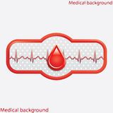Blood donation vector. Stock Photo