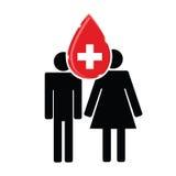 Blood donation vector Stock Photos