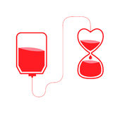 Blood donation vector Stock Photography
