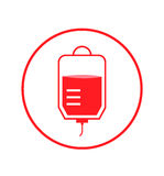 Blood donation vector Stock Images