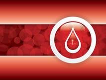 Blood donation royalty free illustration