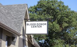 Blood Donor Center Royalty Free Stock Photo