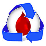 Blood Donor Icon Royalty Free Stock Images
