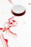 Blood drain Stock Photo