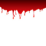 Blood dribble top Stock Photo