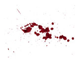 Blood drip. Good blood background in halloween day Royalty Free Stock Photography