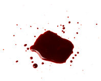 Blood drip Stock Image