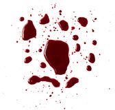 Blood drip Royalty Free Stock Images