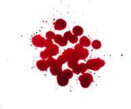 Blood drip Stock Photo