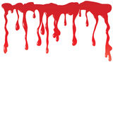 Blood dripping Royalty Free Stock Photos