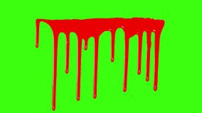 Blood Dripping Down