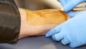 Blood Drive Royalty Free Stock Photo