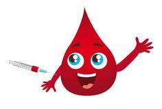 Blood drop Stock Image