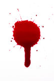 Blood drop. A high resolution image of blood or ink Stock Photos