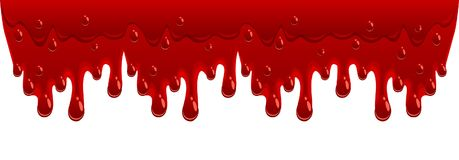 Blood flow. On a white background royalty free illustration