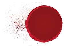 Blood frame Royalty Free Stock Images