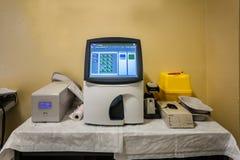 Blood gas analyzer Royalty Free Stock Photos