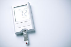Blood Glucose Meter, Diabetes Royalty Free Stock Images