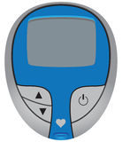 Blood Glucose Meter Stock Images