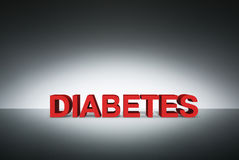 Blood glucose meter to check the blood sugar level Royalty Free Stock Photography