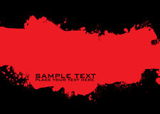 Blood grunge ink Stock Images