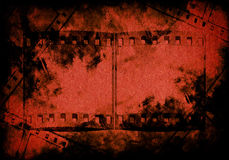 Blood on grunge paper background Stock Photography