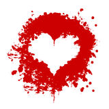 Blood heart Stock Image