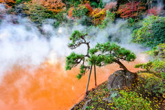 Blood Hell of Beppu Royalty Free Stock Photography
