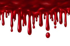 Blood Liquid Dripping Royalty Free Stock Image