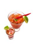 Blood Mary coctail Royalty Free Stock Photos