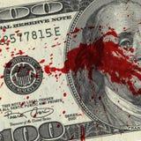 Blood Money Stock Image